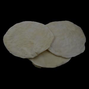 Base de pizza semihorneada
